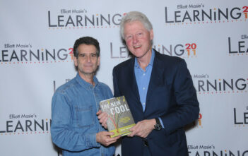 Dean Kamen with Bill Clinton