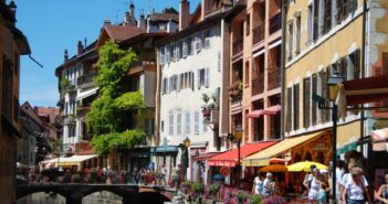 Annecy ville paysage