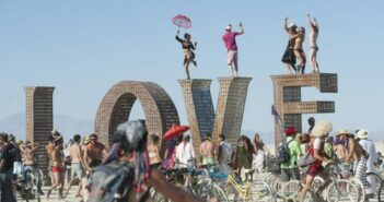 Quirky photos of the Segway PT at the Burning Man festival