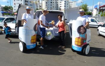 Street marketing CRC en gyropode Mobilboard