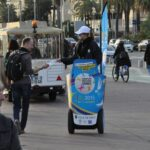 Segway Mobilboard street marketing French Riviera