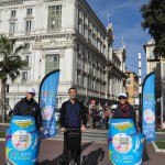mobilboard street marketing Promenade des Anglais