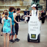 Mc Donalds communication Mobilboard