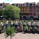 evjf groupe fille gyropode segway
