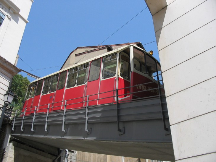 visiter Lyon Funiculaire