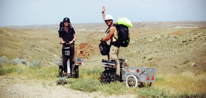 gyropode Segway Travellers