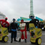 distribution flyers gyropode Segway costumes