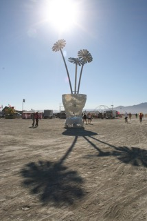 Robert James oeuvre artistique Burning man