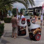 ouverture comptoir Del Gusto street marketing