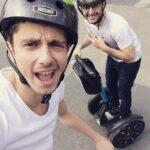 Guillaume Pley Segway chez Mobilboard