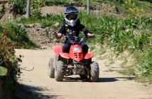 Quad junior rouge gyroparc