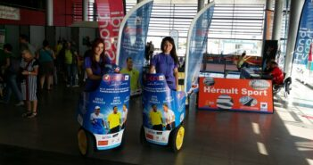 tournoi de tennis, sud de france, tennis, segway, street marketing,tennis a montpellier
