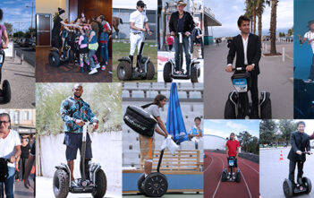 50 celebrities on their Segway PT : people