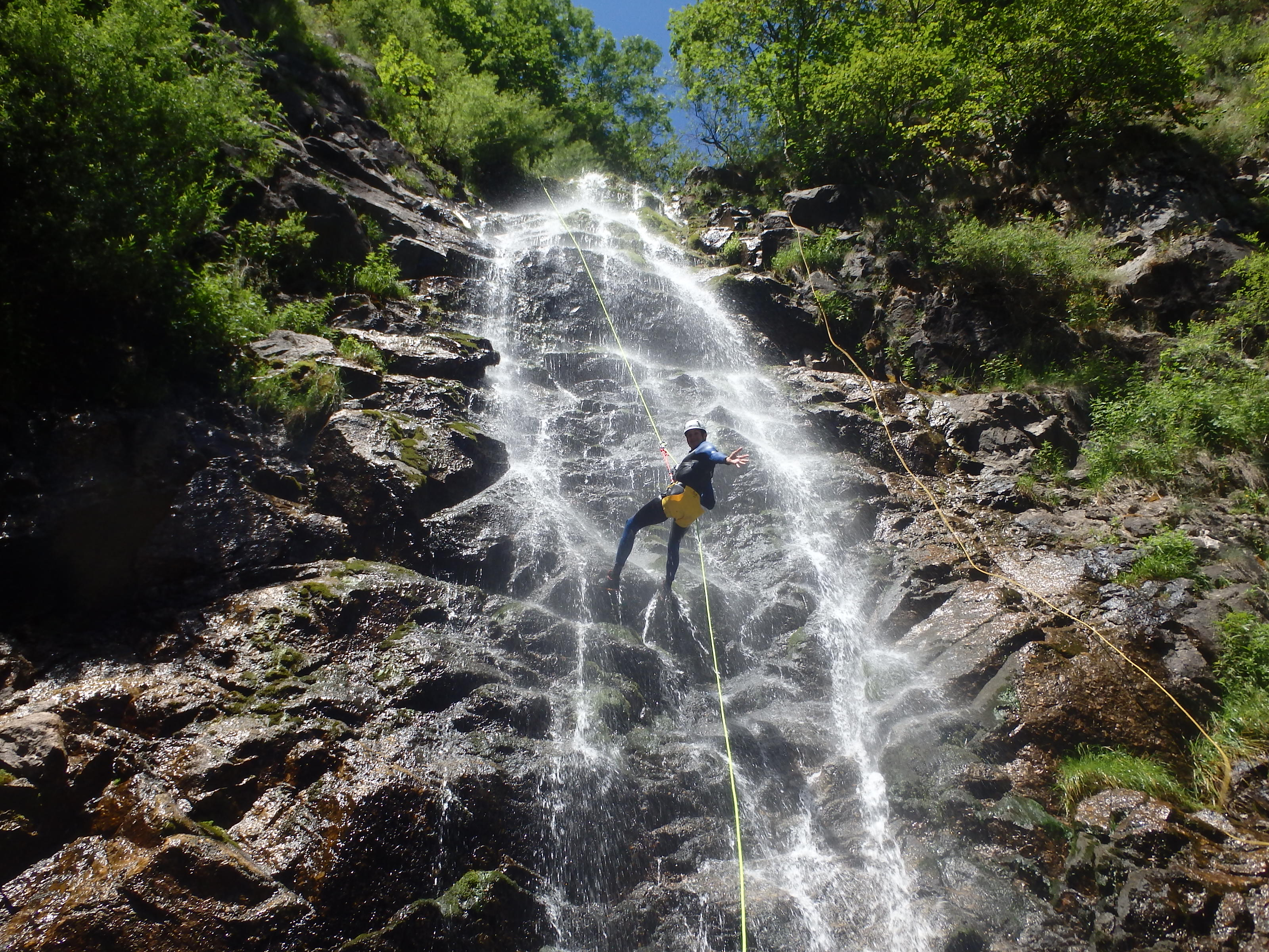 Canyoning à Montpellier