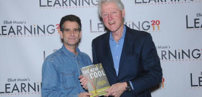 Dean Kamen with Bill Clinton