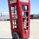 Burning Man cabine telephonique