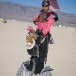 Déguisement original Segway Festival Burning Man