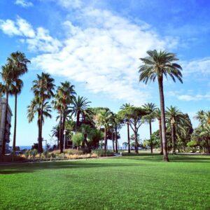 Visiter les espaces verts de Nice
