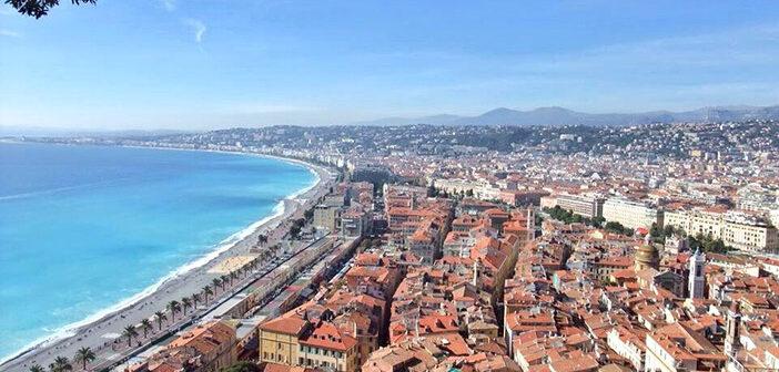 panorama de la ville de Nice