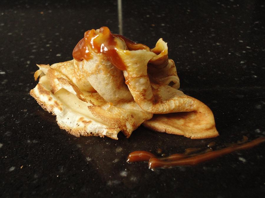 crepe bretonne creme de caramel au beurre sale Carnac
