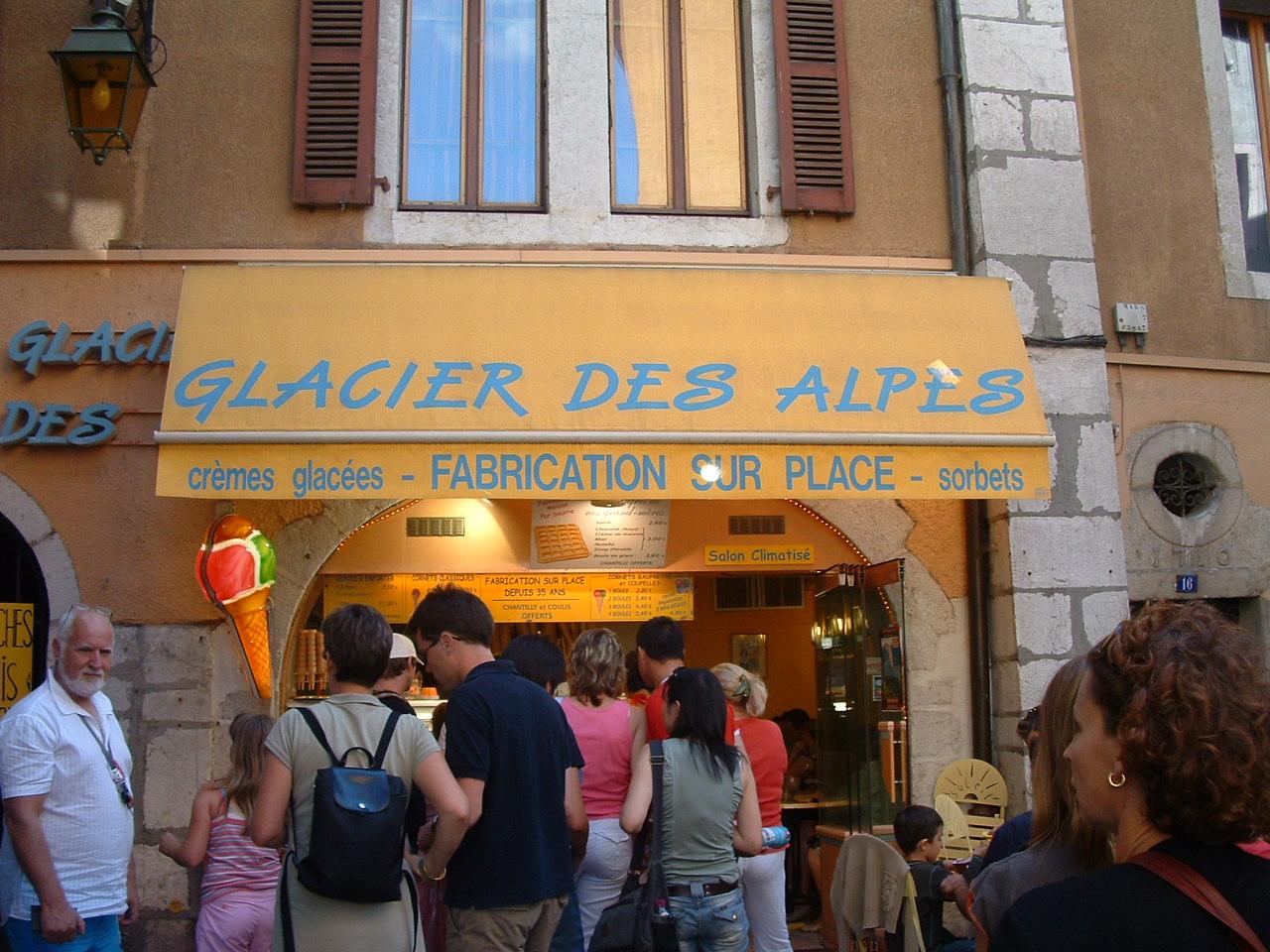 Glacier des Alpes Annecy