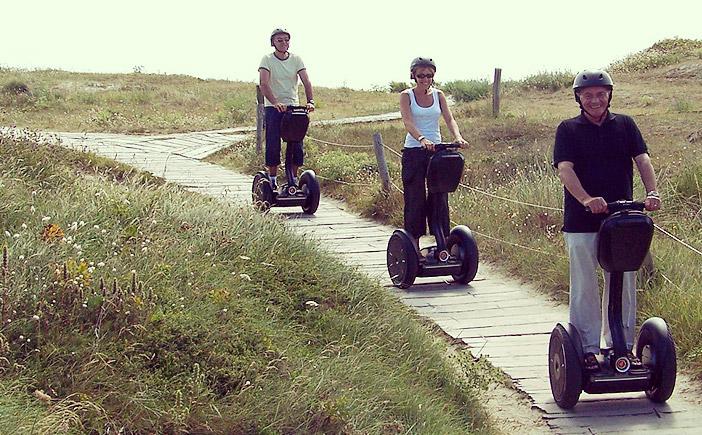 Balade sur les plages de Lorient en gyropode Mobilboard
