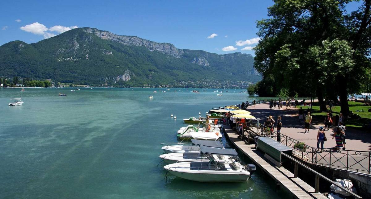Lac d'Annecy paysage