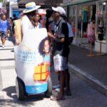 Action de solidarité gyropode Segway La Réunion