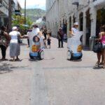 street marketing à Segway pour les enfants de la Réunion
