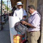 Opération street marketing Action Solidarité la réunion