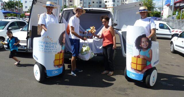 Street marketing CRC en gyropode Mobilboard
