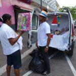 Opération street marketing CRC cadeaux pour enfants