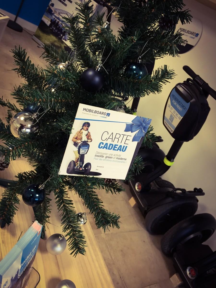 Carte cadeaux de Noël Mobilboard Lyon