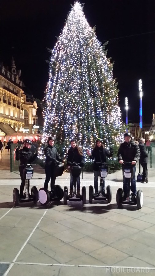 Tous en Segway pour fêter Noël à Montpellier