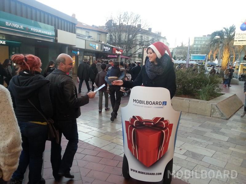 Diffusion carte cadeau Montpellier Mobilboard