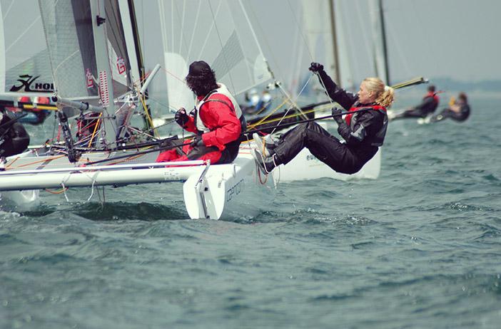 Course de bateaux Eurocat mer
