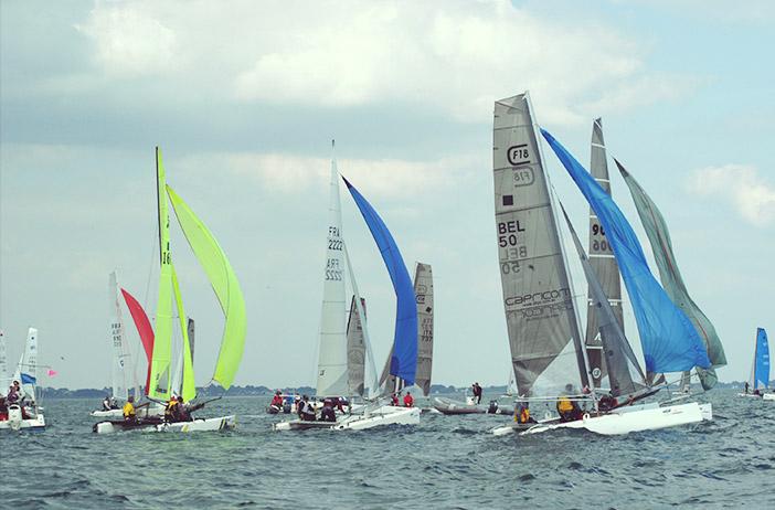 Eurocat fête du catamaran