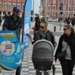 Mobilboard street marketing Nice