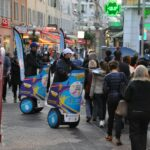 Nice opération de street marketing European Masters Games