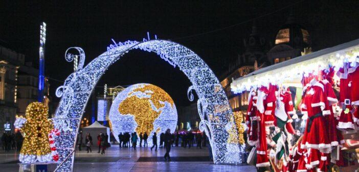 Les hivernales de Noël à Montpellier 2014