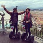 Road trip sur les hauteurs de Nice à gyropode Mobilboard