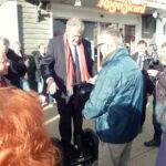 Essai Segway pour le maire de la Rochelle