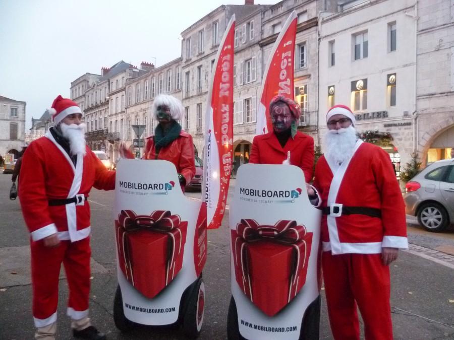 Joyeux Noël à la Rochelle avec Mobilboard
