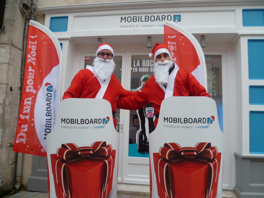 C'est la fête avec Mobilboard la Rochelle à Noel