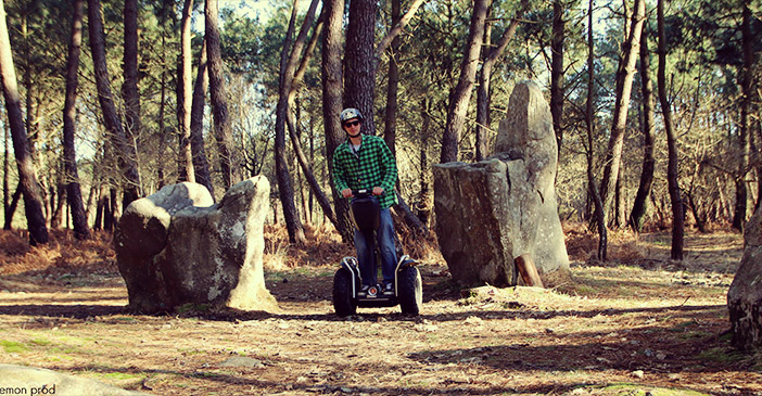 découvrir les menhirs en Segway avec Mobilboard Carnac