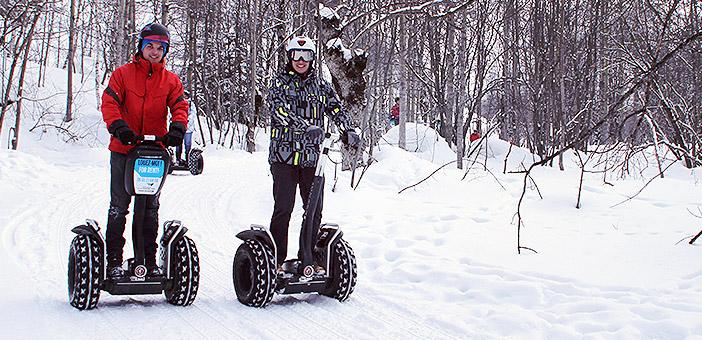 Randonnée et activité originale sur neige avec Mobilboard