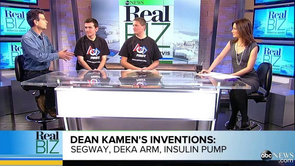 Dean Kamen interview sur ses inventions à la TV