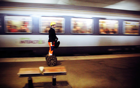 SNCF déplacement à Segway