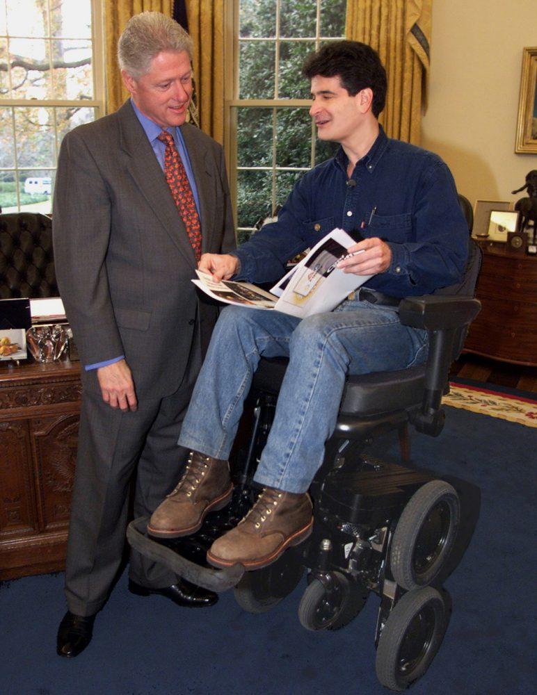 Kamen et Bill Clinton : essai iBot Segway