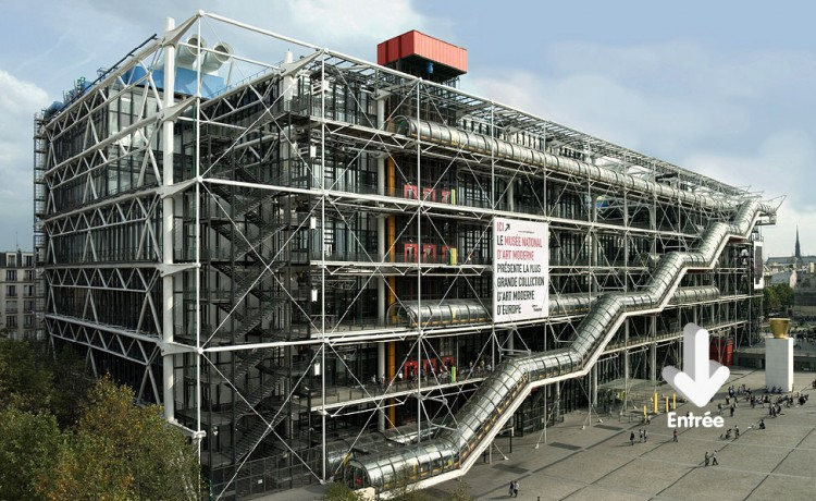 centre pompidou paris